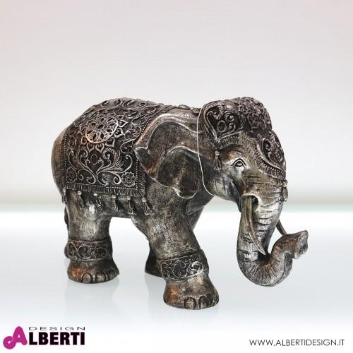 Elefante in poliresina 54x33x23 cm