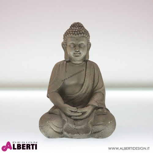 Buddha in poliresina 18x21x31cm