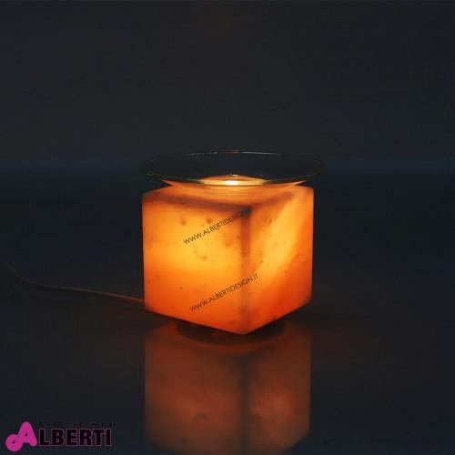 Lampada di sale dell'Himalaya Ø 14,5xh13 cm