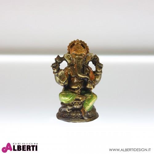 Ganesha seduta in resina H11 cm