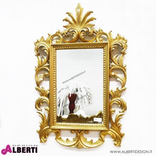 Specchio foglia oro 95x5x145 cm