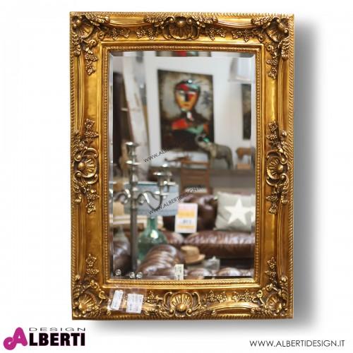 Specchio oro Barocco 120x90