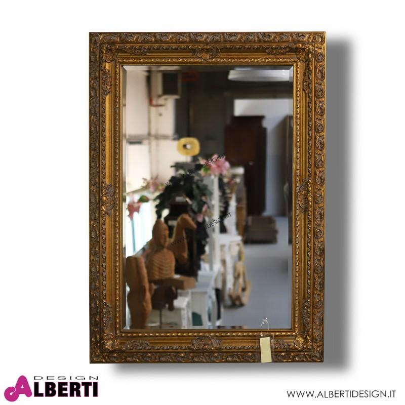 Specchio H110x80 oro