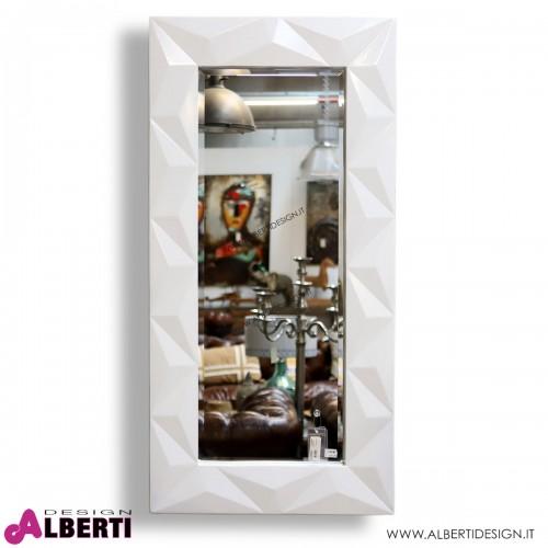 Specchio bianco 90x75 cm