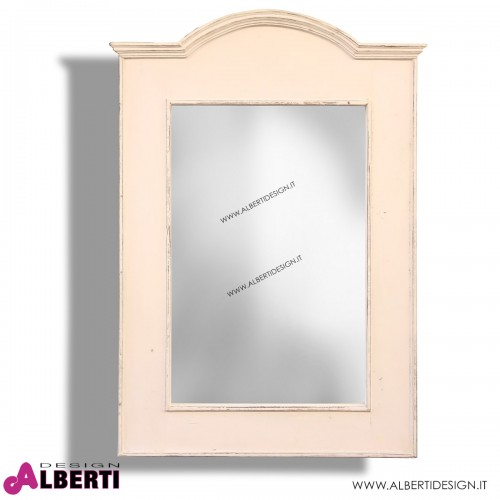 Specchio bianco 60x4xH90 cm