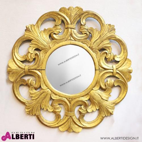 Specch. rot CINCIN BG oro D40/100