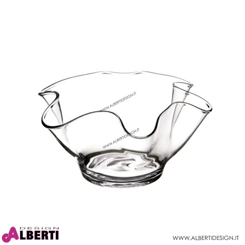 Vaso smerlato vetro H14,5 Dmax28