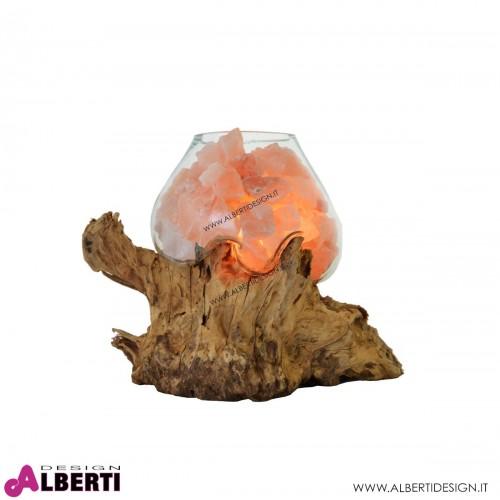 Lampada di sale dell'Hilamaya L 20cm 4,5-6 kg