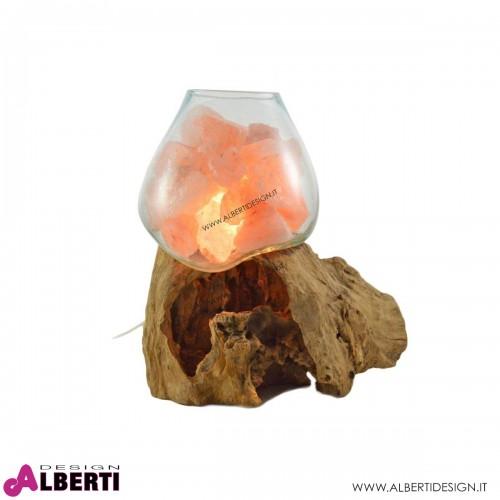 Lampada sale dell'Himalaya L 22cm 7-10 kg
