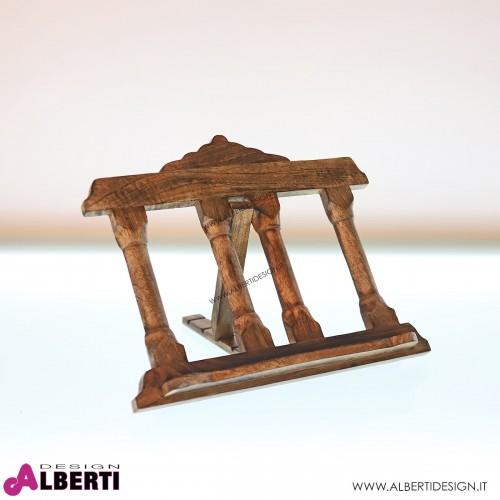 Leggio in legno da appoggio L36xP7xH28 cm