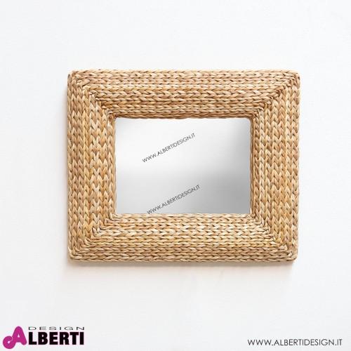 Specchio in banano L58x6xH48 cm