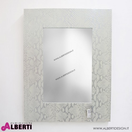 Specchio coccodr.ecop.H90x60 cm