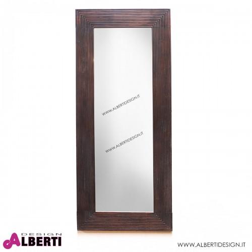 Specchio coloniale in legno POLOS 60x4x140 cm