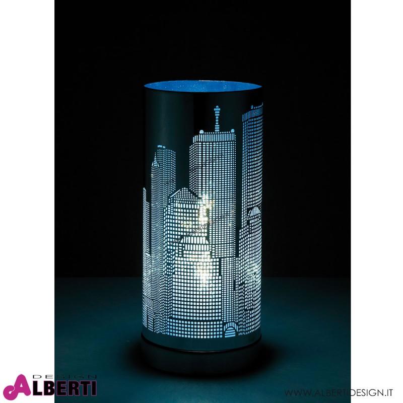Lampada da tavolo Skyline TOUCH argento H 30cm