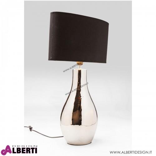 Lampada da tavolo Drop Gunmetal 48x19x71