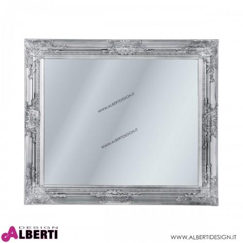 Specchio Barock 74x64 silver