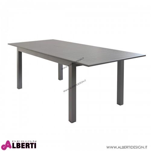 Tavolo allungabile color talpa 150/210x90x75 cm