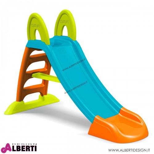 Scivolo plus in plastica per bambini 161x71x103 cm