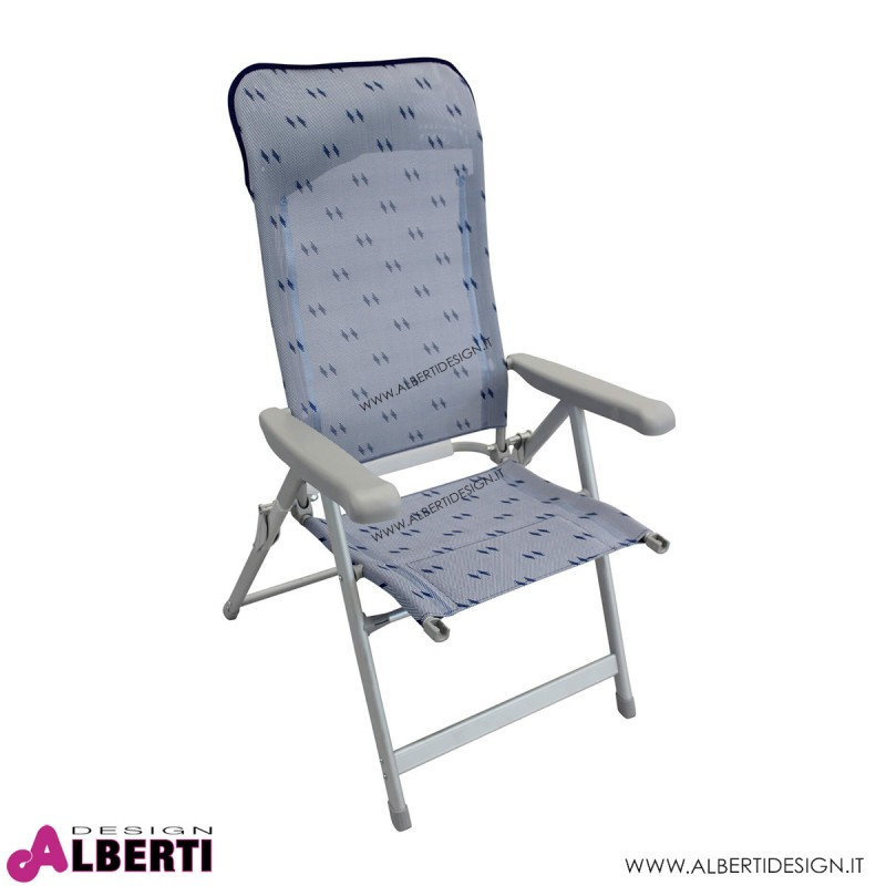 Poltrona Ischia textilene 77X63X122 cm