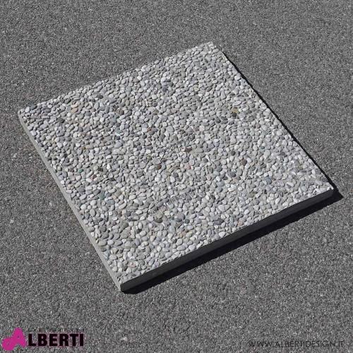 Base ombrellone quadrata 50x50x3,5 cm