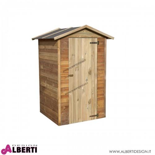 Armadio in legno di pino/abete 110x120x210 cm