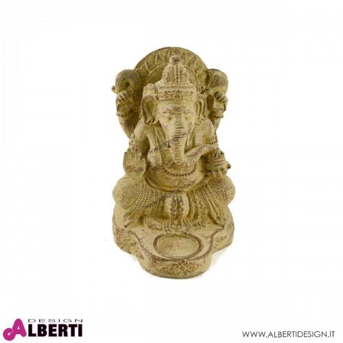 Ganesha gambe incrociate 15x20x24h pietra