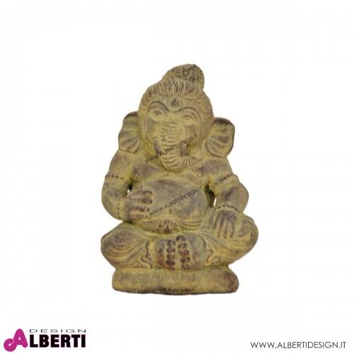 Ganesha gambe incrociate in pietra 13x20h cm