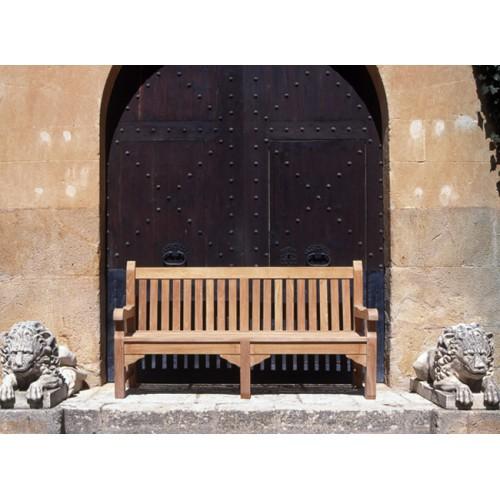 Panca in teak 3 posti modello Balmoral 185x71x100 cm