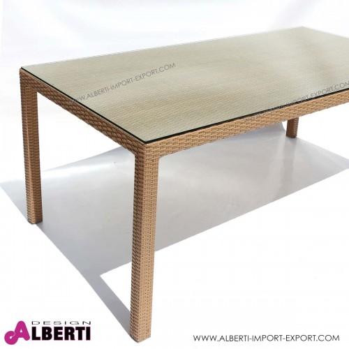 Tavolo 150 x 150 color quercia