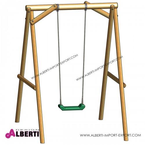 Altalena MINI per bambini, 160x220x225 1 seggiolino