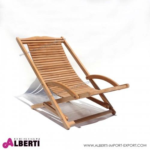 Sdraio relax MILANO 67x110xh90 cm