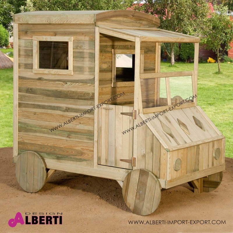 Casetta auto l110xp184xh176cm - Casetta da giardino per bambini usata ...