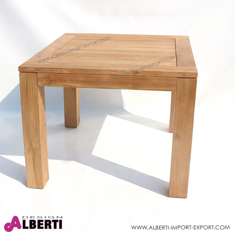 Tavolo giove 90x90 - Mobili da giardino in teak ...