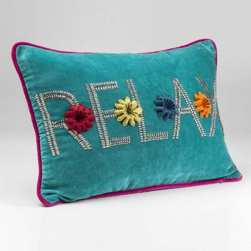 Cuscino Relax azzurro 35x50cm