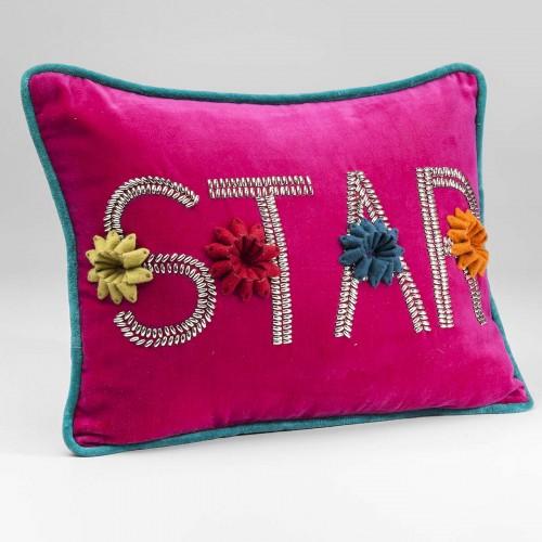962 KA37781_a Cuscino Star fuchsia 30x40cm