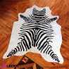 962 HEI218301_a Pelle dipinta zebra 3-4 mq