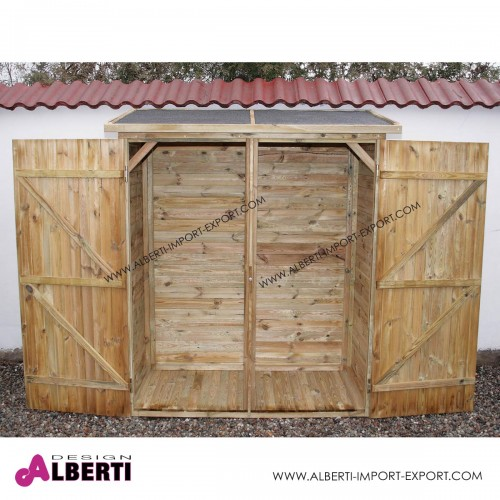Armadio a muro spessore 19mm legno impregnato in autoclave, 73x150x180