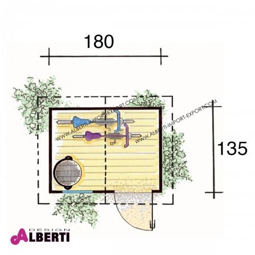 950 31790_b Casetta ripos.180x135xh215cm 14mm