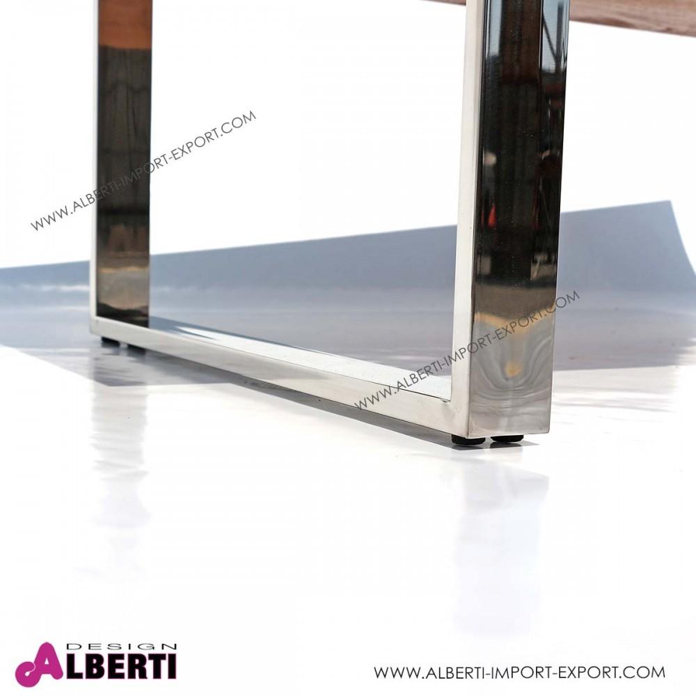 Tavolino salotto vetro e acciaio : tavolino salotto vetro e ...