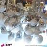962 KOYZ9710140_a Orso perline argento 32/40cm ass.