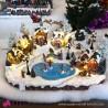 962 WU15484_a Villaggio invernale animato con casette e pista pattinaggio51x38x32