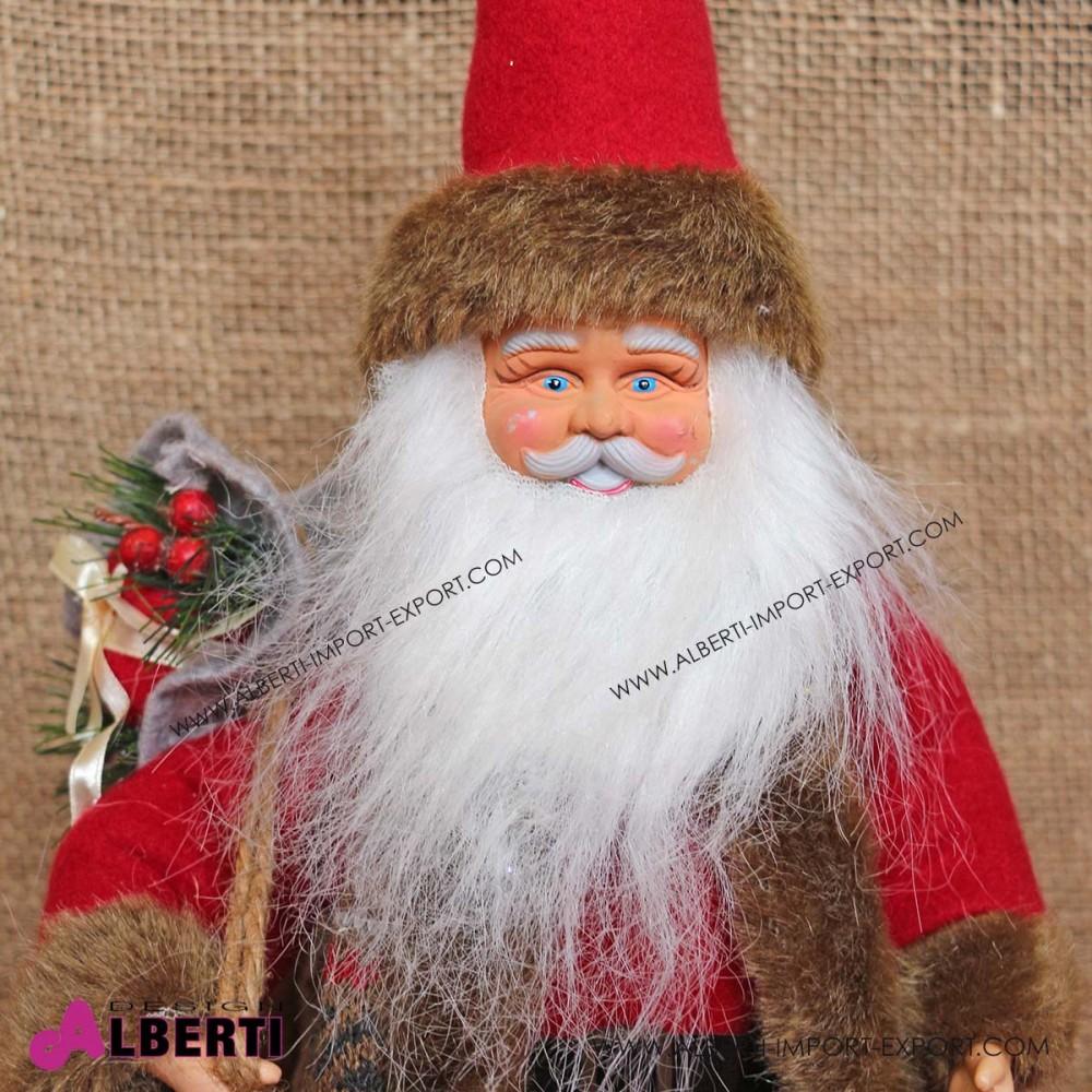 Babbo Natale 40 Cm.Pupazzo Babbo Natale 40cm