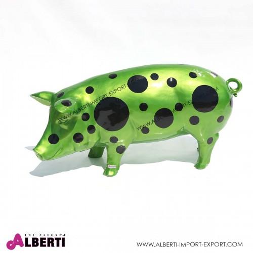 963 52GSAU328_a Maiale verde met.+cerchi H49