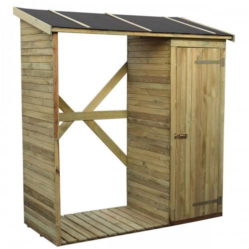 Legnaia+armadio in legno impregnato in autoclave 180x220x80