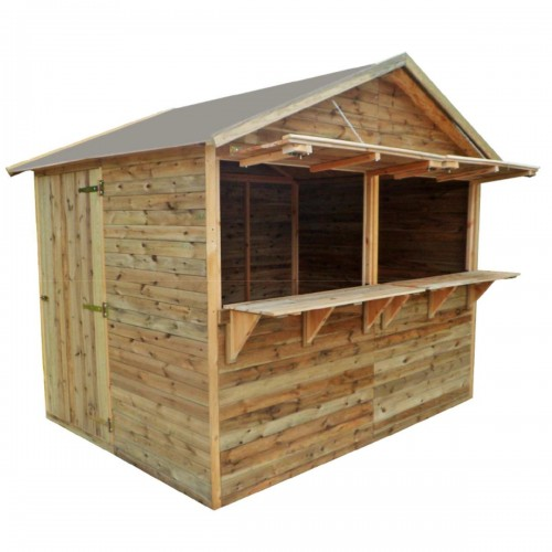 Chiosco big in legno impregnato in autoclave 250x180xh245 cm