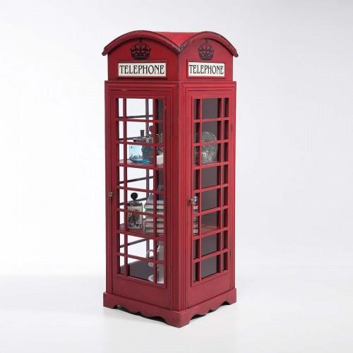 Armadietto porta oggetti London Telephone H 140 cm