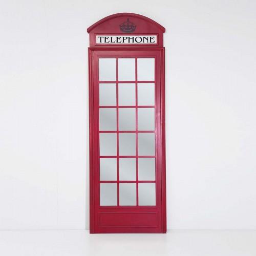 962 KA76694_a Specchio LondonTelephone 210x75cm