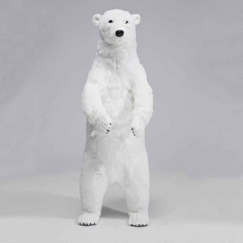 962 KA32594_a Figurina deco Orso Polare 83cm