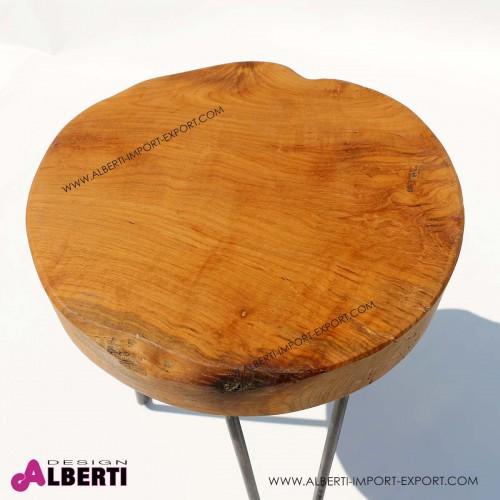 962 KOJ09150060_b Sgabello legno/metallo 42cm