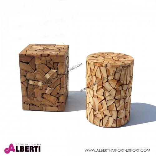 962 KOJ09150130_b Seduta legno teak 30x30x40cm